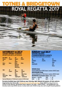 Totnes & Bridgetown Royal Regatta @ Dart Totnes Amateur Rowing Club